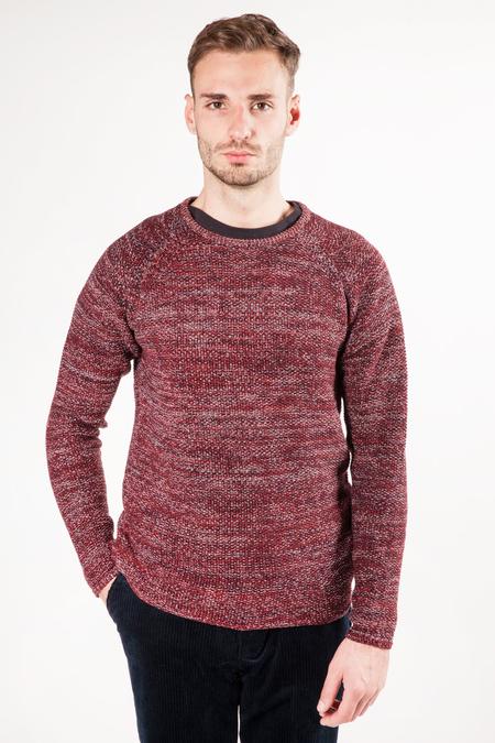 RVLT Joakim Knit - Dark Red