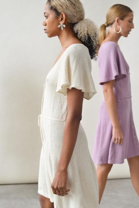 Kordal Rosa Dress - CREAM