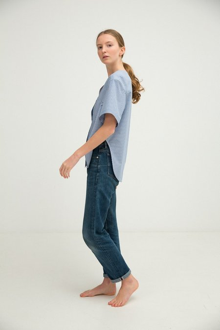 Sherie Muijs No. 24 Shirt - Denim Blue Stripe