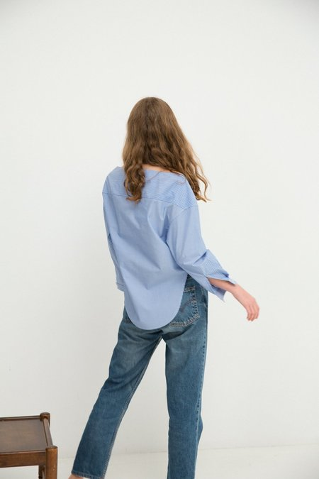 Sherie Muijs No. 25 Shirt - French Blue Stripe