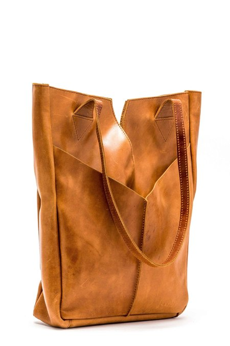 Raven and Lily Azeb Getaway Tote - Brown