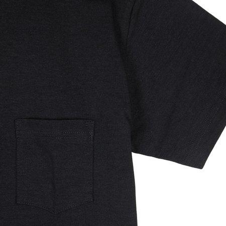 3Sixteen Heavyweight Pocket Tee Black