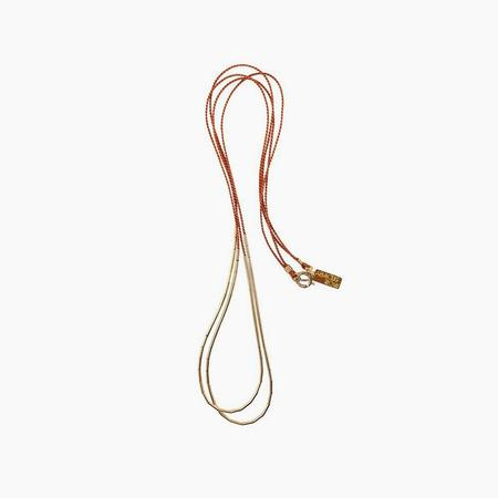abacus row Andromeda Necklace - Rust