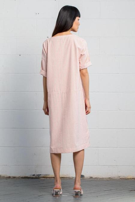 RUJUTA SHETH Essentials dress - Peony Stripes