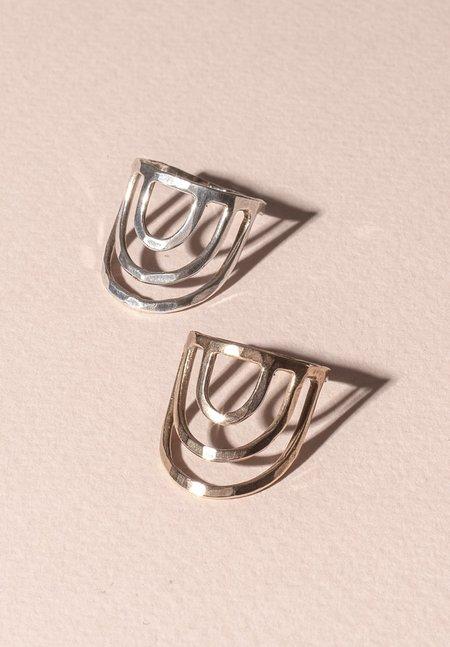 Tiro Tiro Porta Brass Ring - Bronze