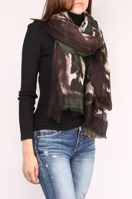 AMA Pure Camouflage Scarf - Green/Brown/Beige