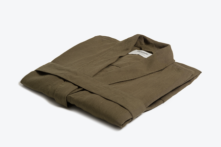 Morrow Soft Goods Linen Robe
