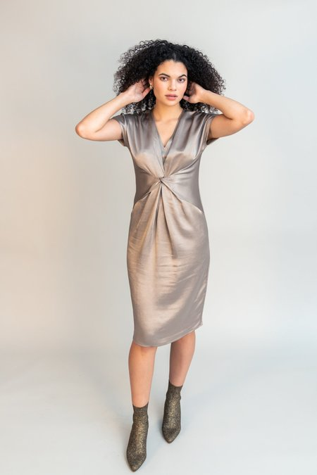 Obakki Harlyn Dress - Clay