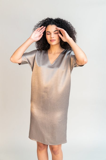 Obakki Cene Dress - Clay
