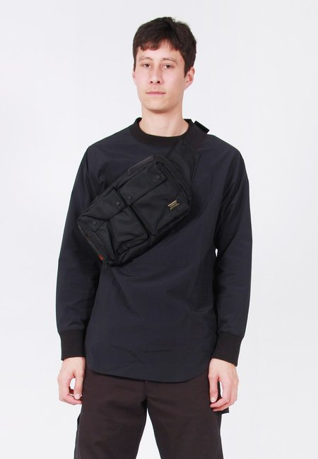 Maharishi Travel Waist Bag - Black