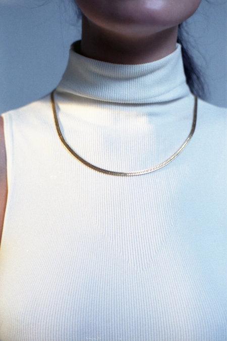 Horizons Vintage Goldtone Chain