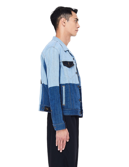 Gosha Rubchinskiy Patchwork Denim Jacket