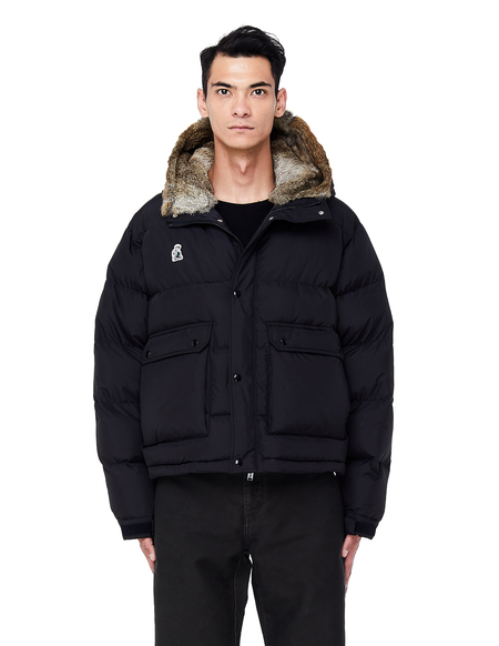 Undercover Embroidered Puffer Jacket - Black