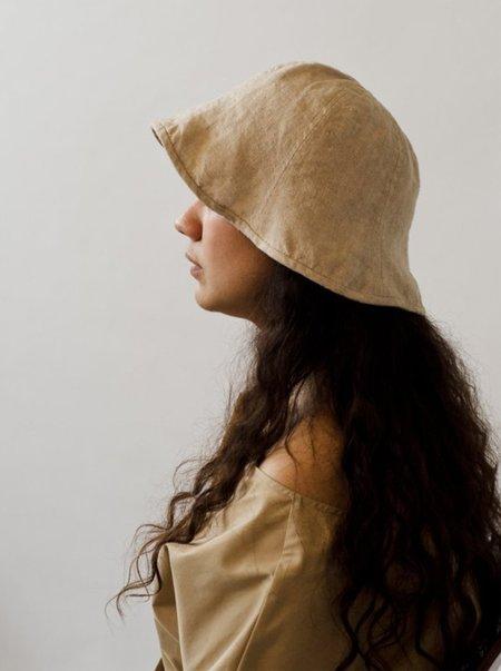 KLAY Moon Flower Linen Hat