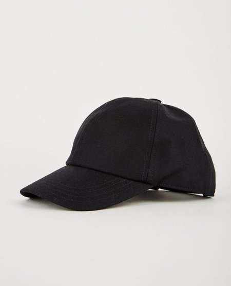 Harmony ARNAUD WOOL CAP - Black