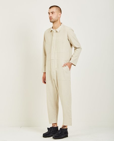Prospective Flow T-823 COVERALL - NATURAL