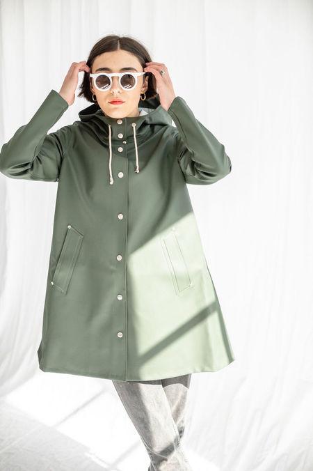 Stutterheim Mosebacke Raincoat - Green