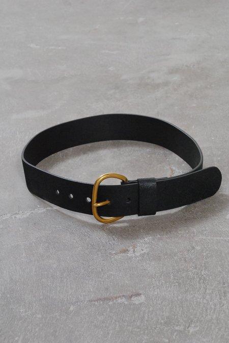 Rachel Comey Estate Distressed Belt - Black