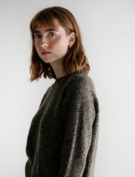Margaret Howell Donegal Crewneck Sweater - Bracken