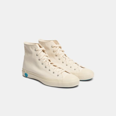 Shoes Like Pottery White Canvas High Top Sneaker