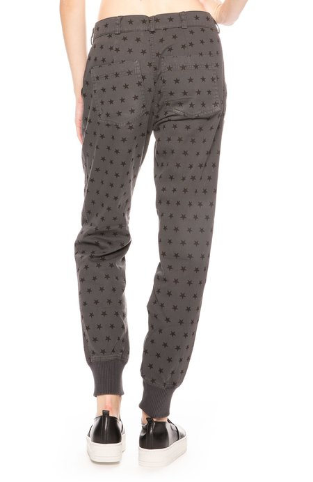 Monrow Woven Star Pants - Star Print