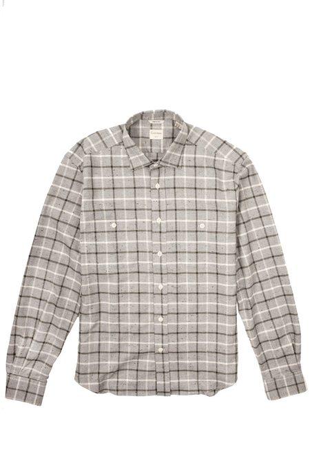 Culturata Super Soft Cozy Plaid shirt - Grey