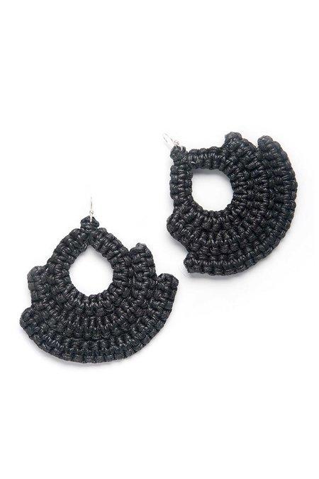Caralarga Guerrera Earring - Black