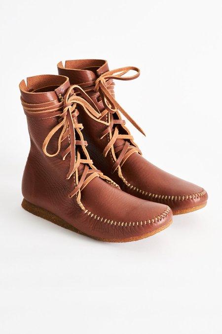 RAKU Makak Boots - Cognac