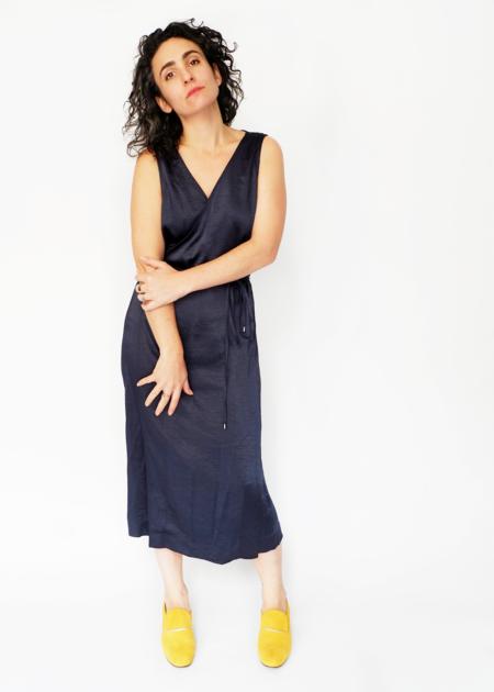 Lilla P. Wrap Dress - Navy