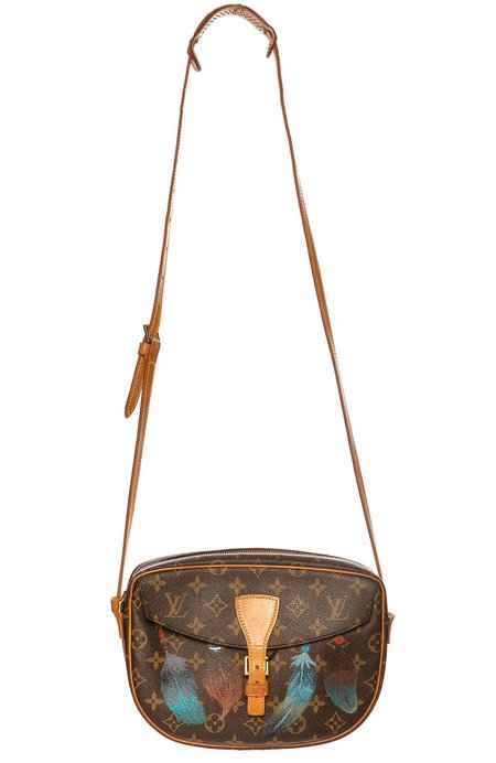 New Vintage LV Jeune Fille Crossbody Bag - Feathers