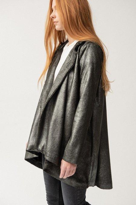 ALEXIA KLEIN Velvet Coat - Silver