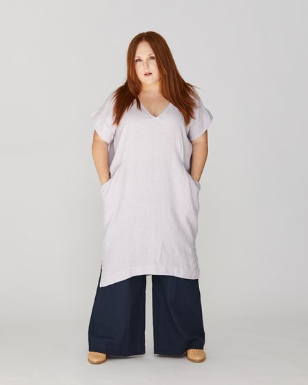 Esby PLUS ALICE TUNIC - LILAC