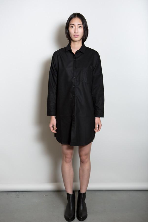 BLQ Basiq Wool Long Sleeve Dress