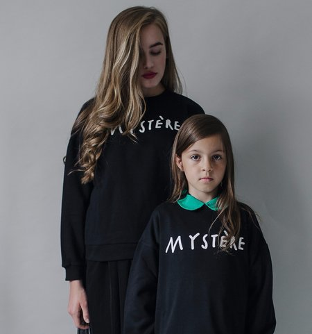 UNISEX Beau Loves Mystere Sweater - BLACK