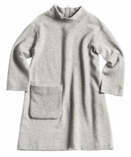 KIDS Unlabel Bea Knit Dress - GREY