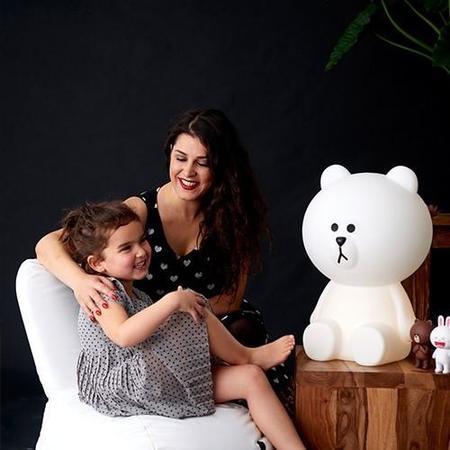 KIDS Mr. Maria Brown Bear Lamp