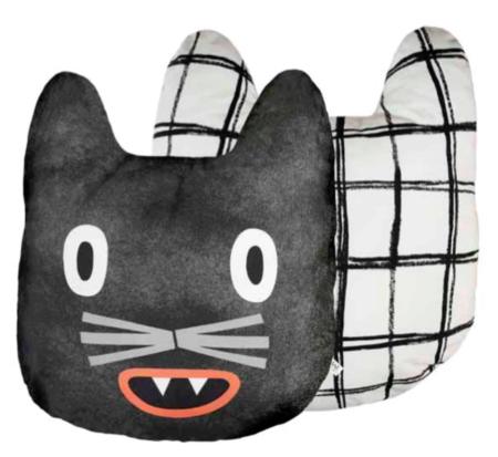 KIDS ANNYWHO Cat Cushion