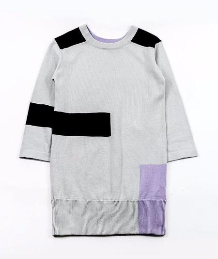 KIDS AGATHA CUB Concrete Sweater Dress
