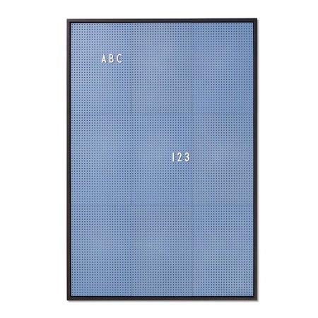 Design Letters A2 Message Board - BLUE