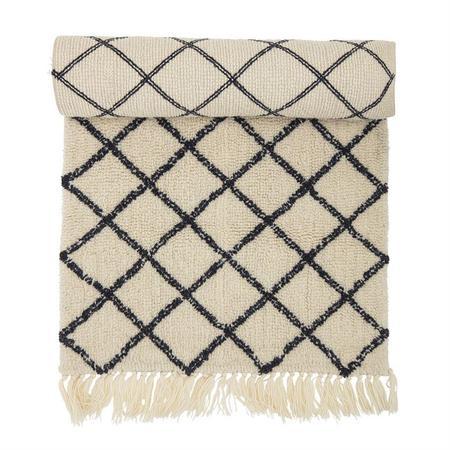 Bloomingville Diamond Wool Rug