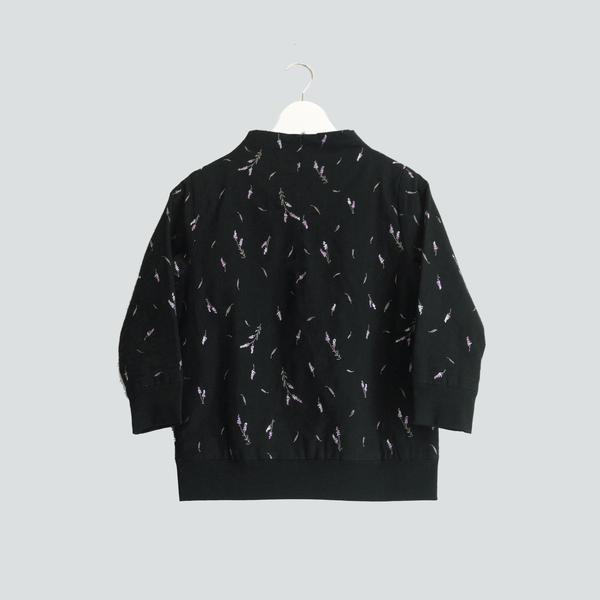 Vestige Story Lavandula Embroidery Top