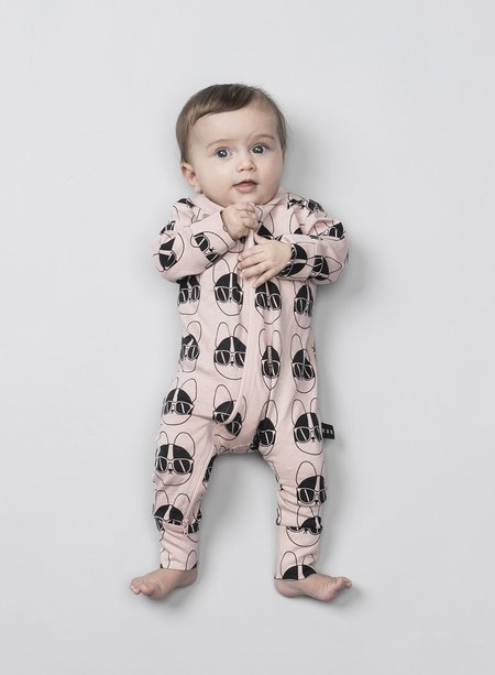 KIDS Huxbaby French Shades Zip Romper