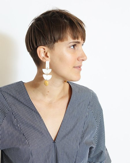 Paloma Wool Malin Earrings - White