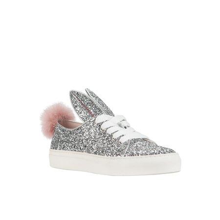 KIDS Minna Parikka Silver Glitter Tail Sneaks Mini