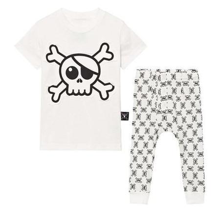 KIDS Nununu Skull Loungewear