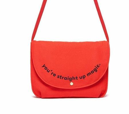 BAN.DO Straight Up Magic Laptop Bag - RED