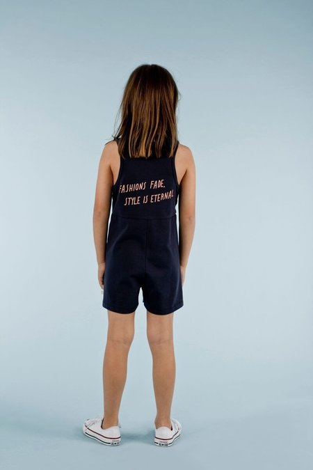 KIDS Tinycottons Style Is Eternal Onepiece - Dark Navy