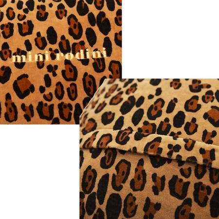 Mini Rodini Velvet Cushion Cover - LEOPARD