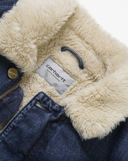 CARHARTT WIP Fairmount Denim Jacket - Blue