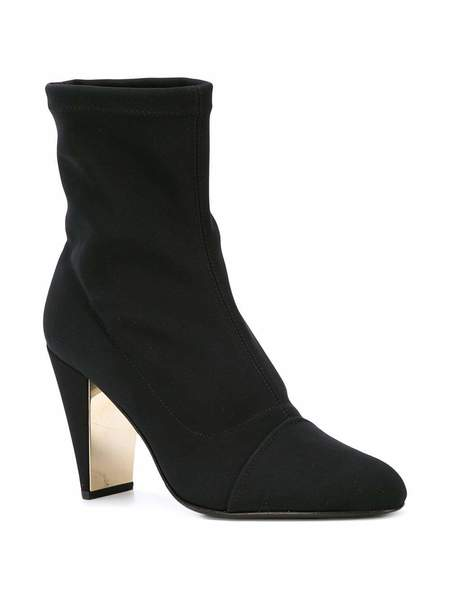 Marion Parke Devon Stretch Bootie - Black
